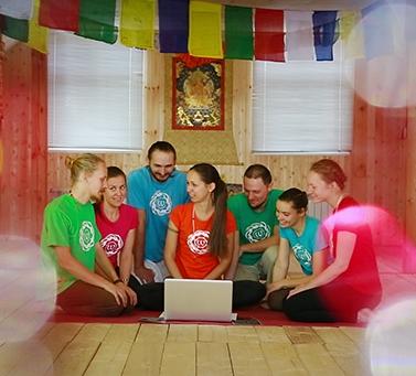 Хатха йогу онлайн вместе с нами