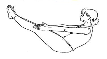 Положение позвоночника в йоге