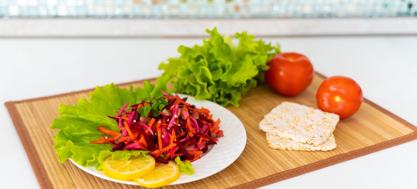 Салат из свеклы для очищения кишечника
