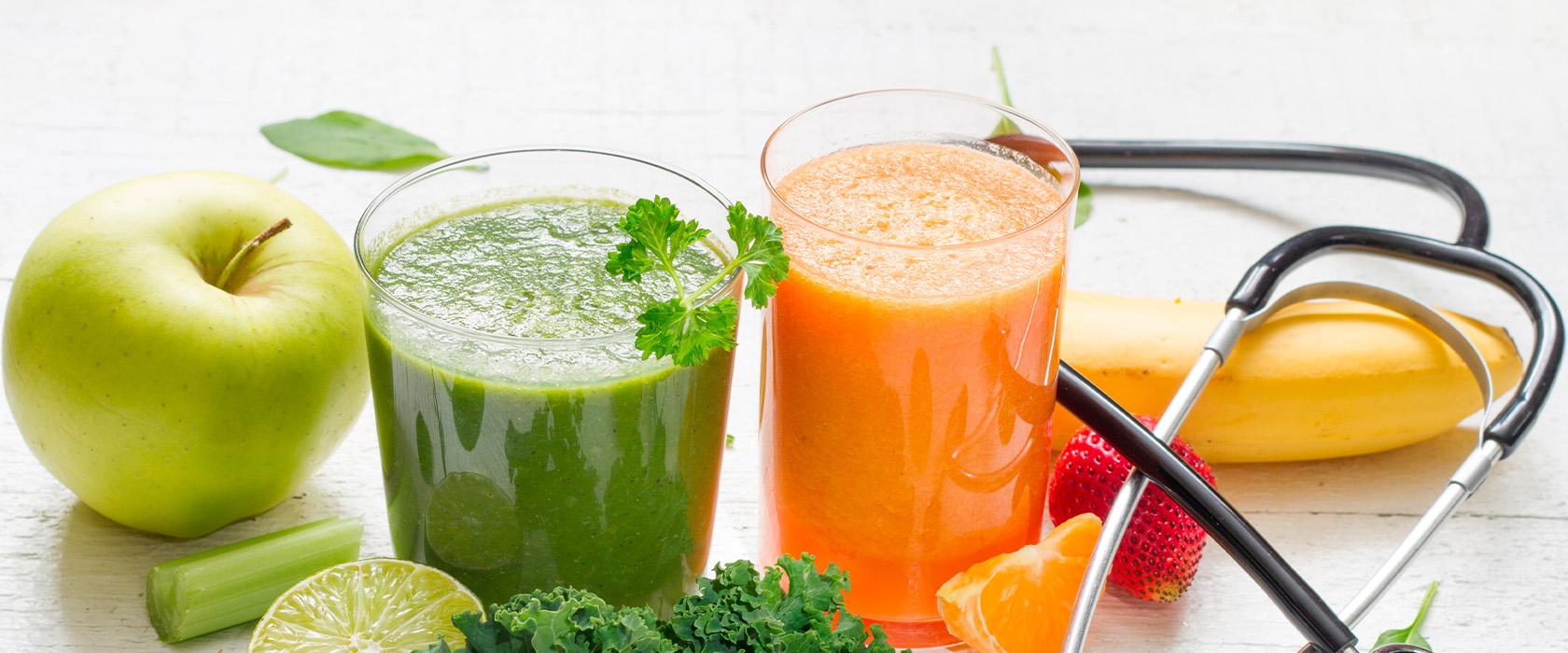 смузи из овощей для похудения рецепты