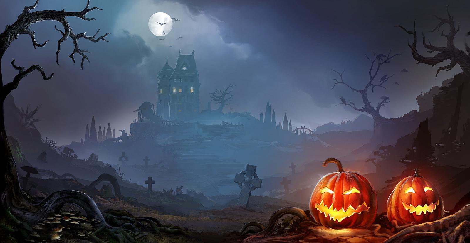 картинки фон хэллоуин этом разделе
