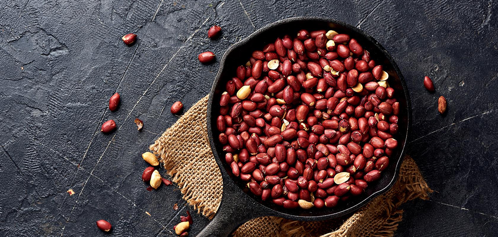 فوائد أكل الفول السوداني ني