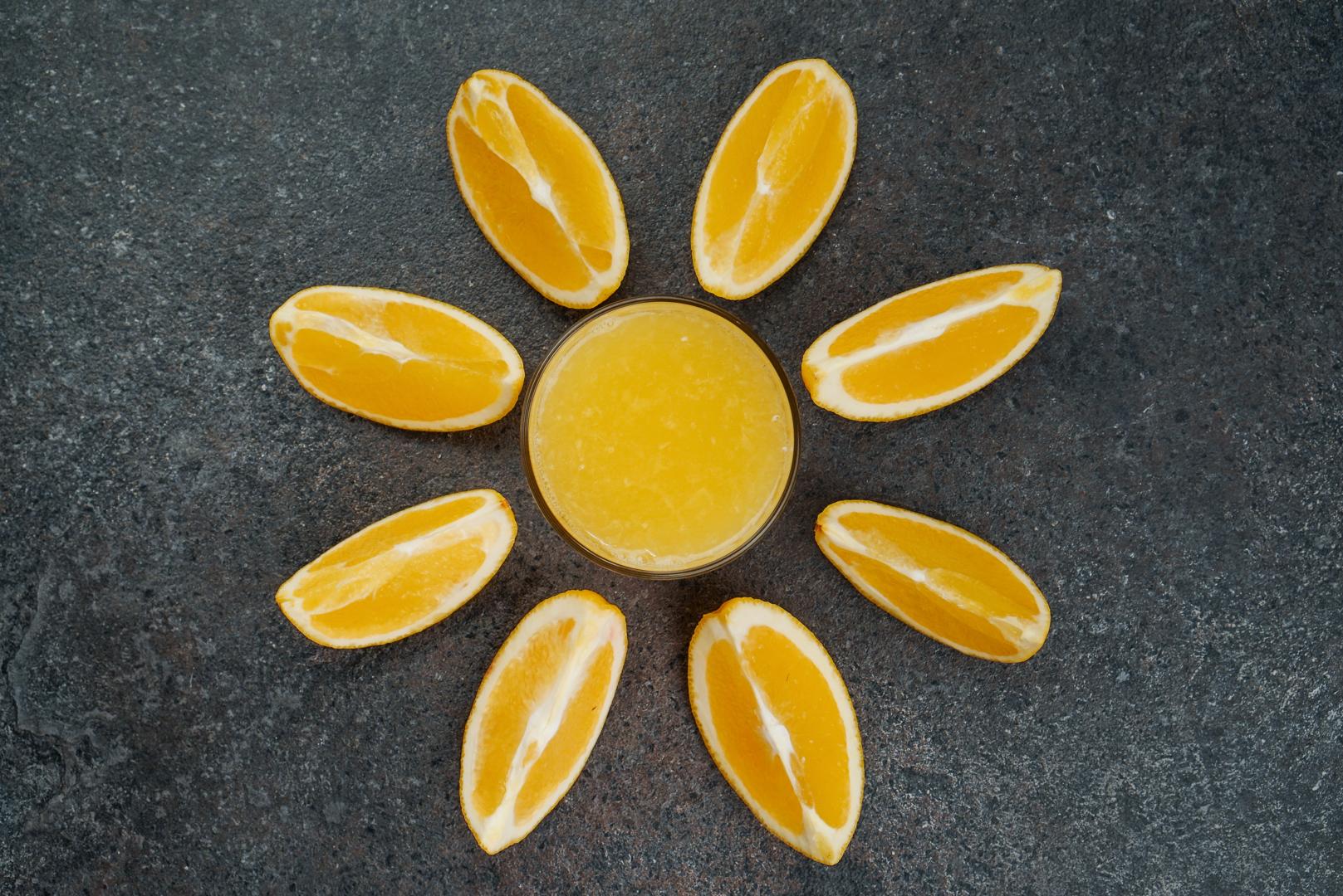 Польза морковно апельсинового сока