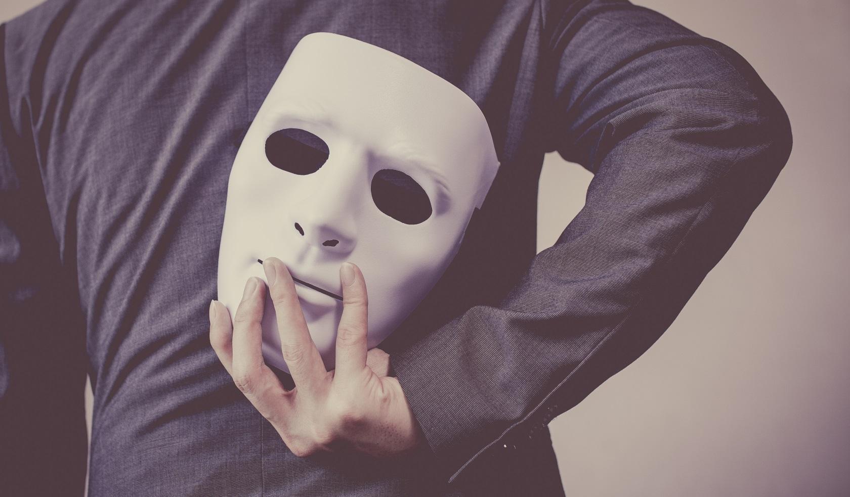Картинки люди под маской
