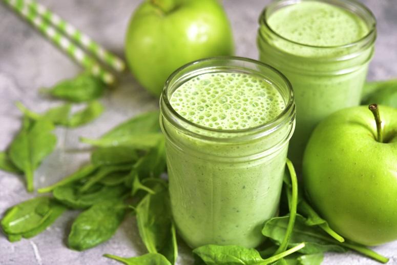 зеленые коктейли простые рецепты