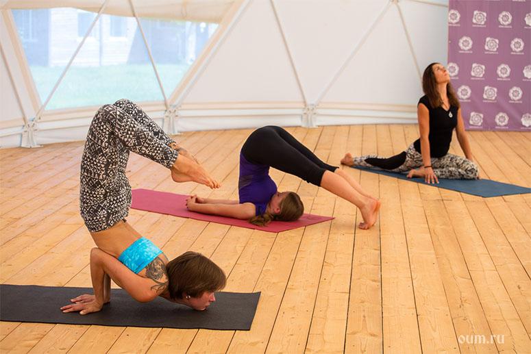 Yoga tune up private yoga class