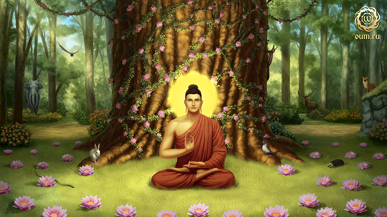Просветление Гаутама Будды, дерево Бодхи