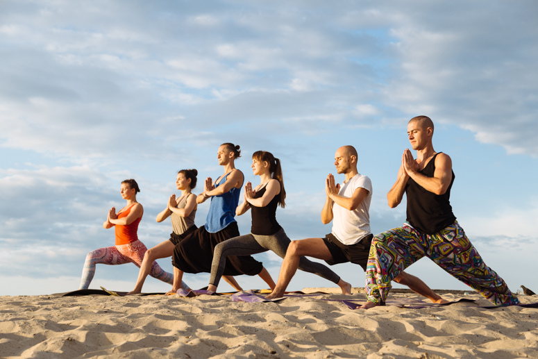 йога, йога на природе