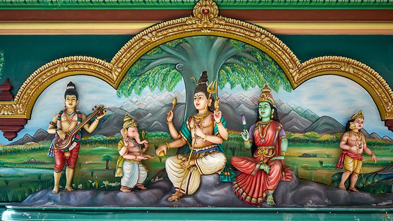 Шива, Парвати, Ганеша