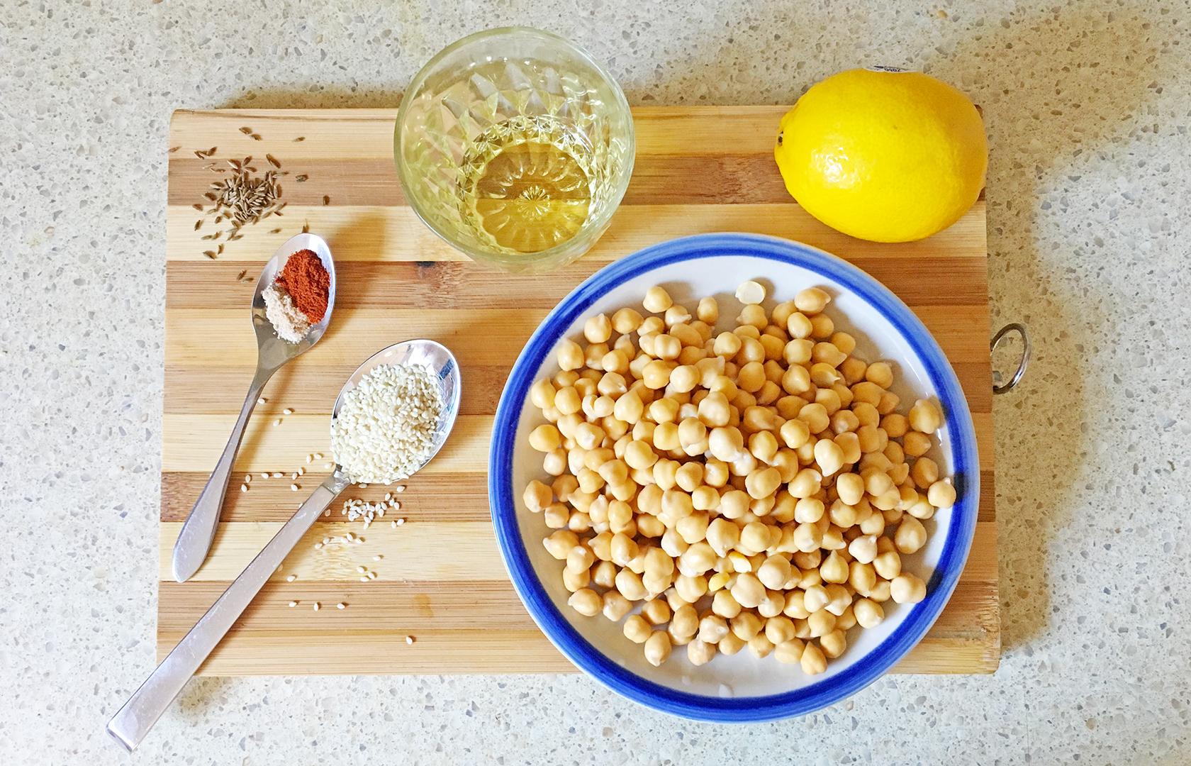 сыроедческий хумус рецепт
