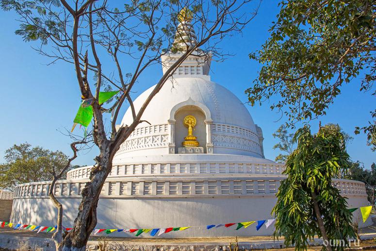Большая Ступа в Санчи Индия самый древний храм буддизма