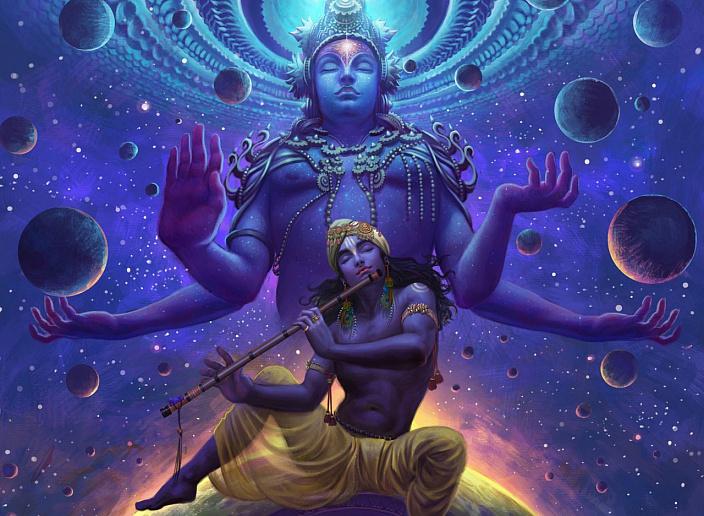 Кришна – аватар Вишну, Кришна, Вишну, Боги, ведическая культура, аватар