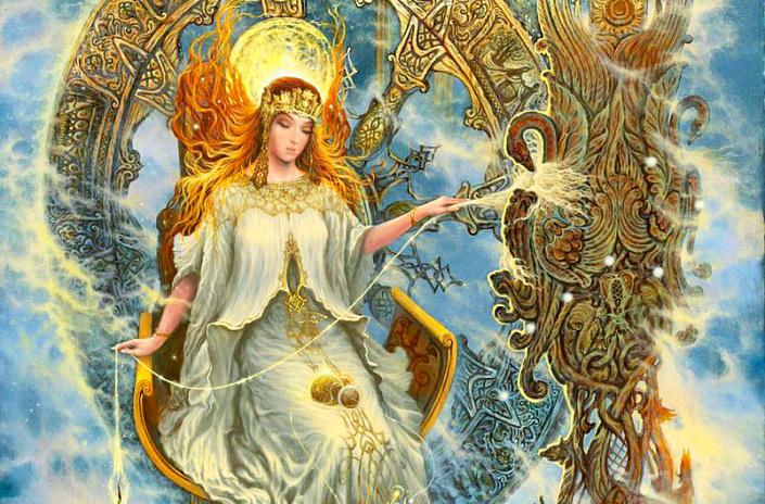Макошь, Богиня Макошь, славянские боги