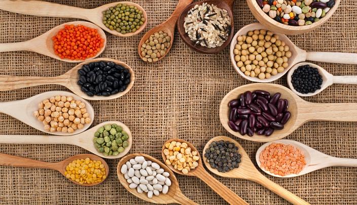 витамин Н, правильное питание, витамины, зернобобовые