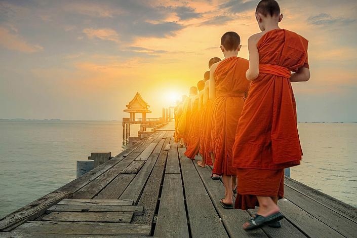 Буддизм, монахи, буддизм для детей