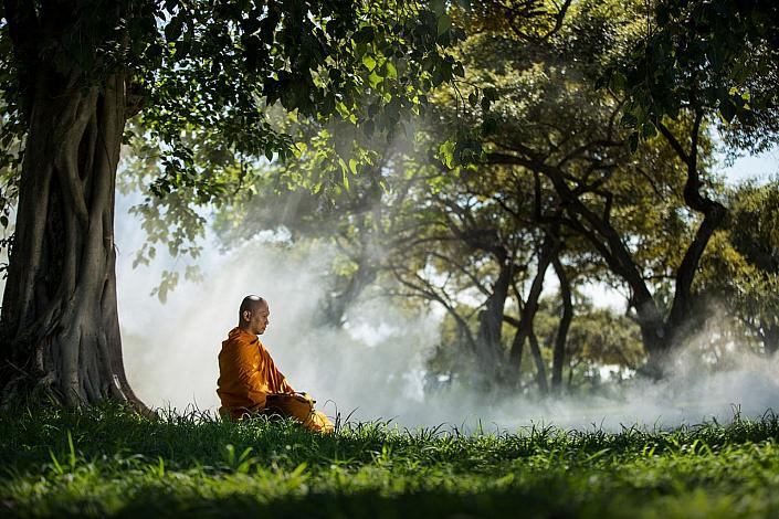 медитация, осознанность