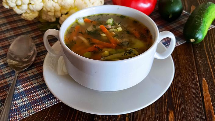 суп из полбы