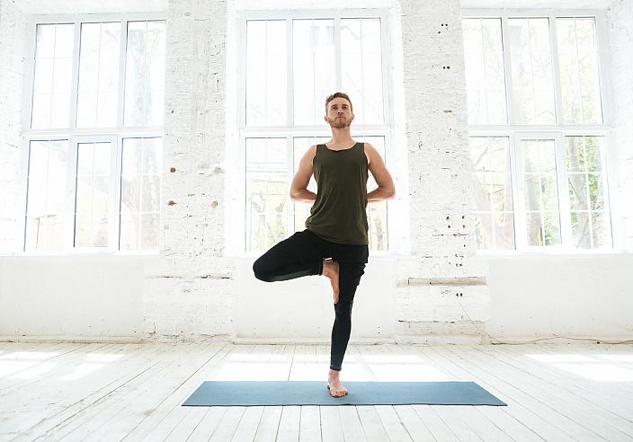 йога, врикшасана, йога практика